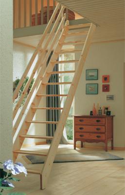 Mlynářské schody DOLLE BURGAU - Buk