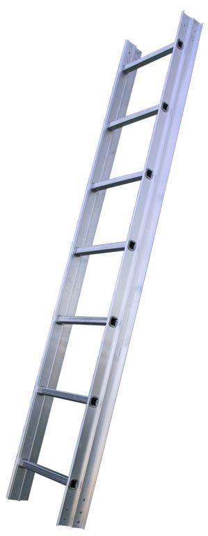 Žebřík hliníkový střešní JUMBO 7 stupně - délka 2m