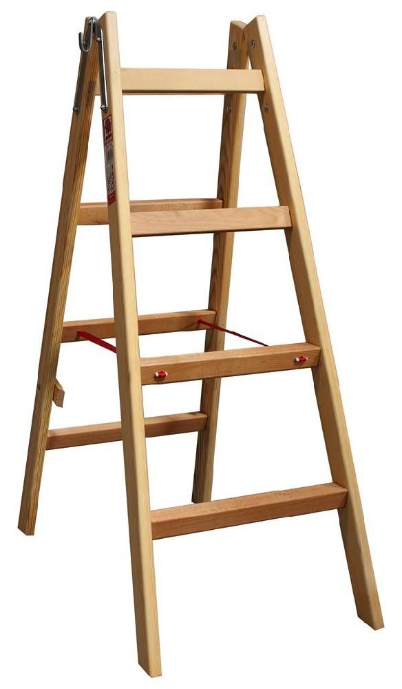 Štafle dřevěné JUMBO 2x4 stupně