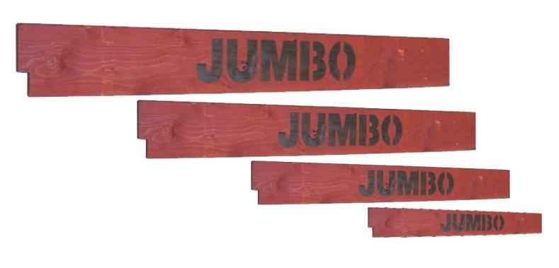Lešení JUMBO prkenné zábrany 130x250cm 4 prkna