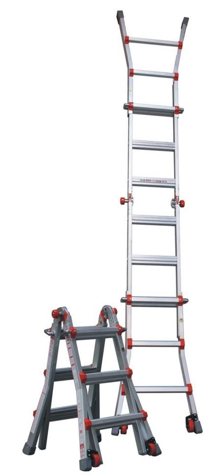 Žebřík hliníkový víceúčelový JUMBO Giant 3/5 Multi-Ladder