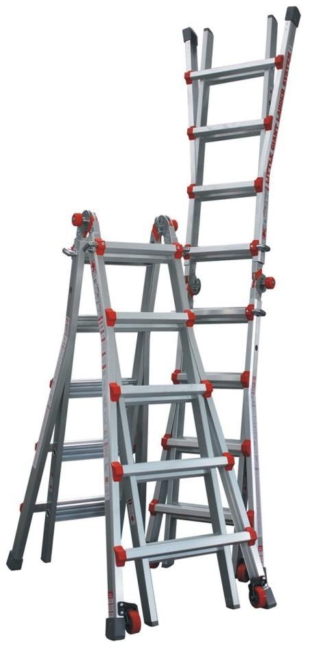 Žebřík hliníkový víceúčelový JUMBO Giant 5/9 Multi-Ladder