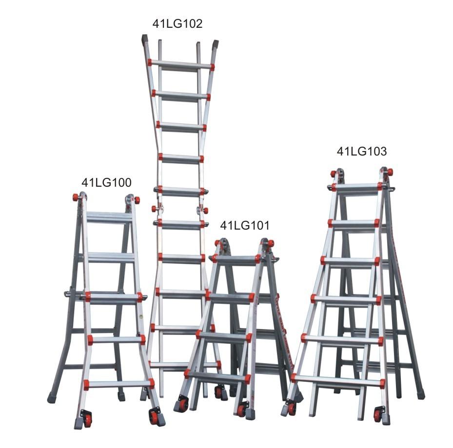 Žebřík hliníkový víceúčelový JUMBO Giant 6/11 Multi-Ladder