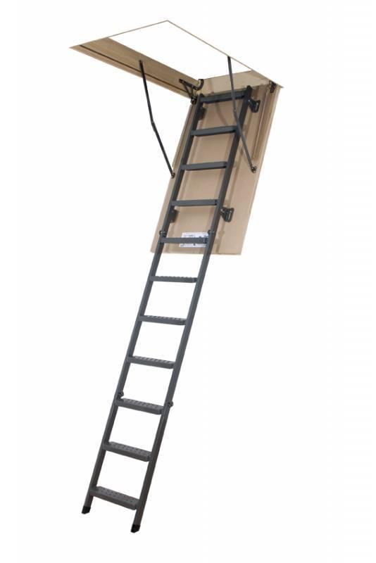 Půdní schody kovové FAKRO LMS-280 60x120