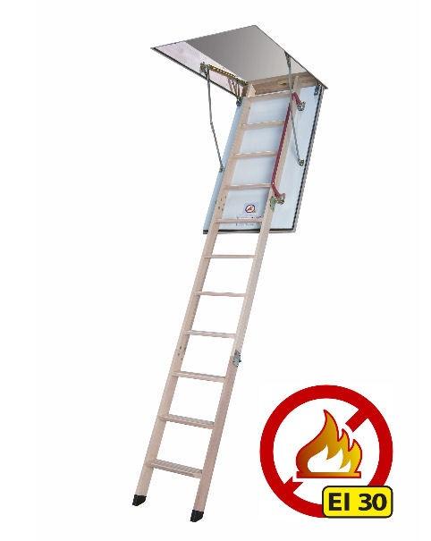 Půdní schody protipožární FAKRO LWF 30-280 70x120