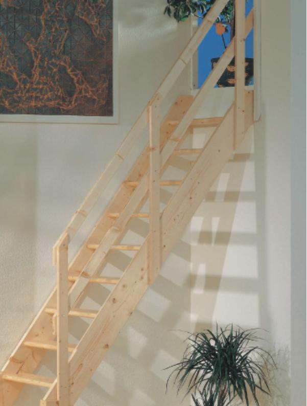 Mlynářské schody DOLLE NORMANDIA rovné