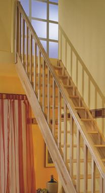 Zábradlí Standard ke schodům PARIS - Smrk