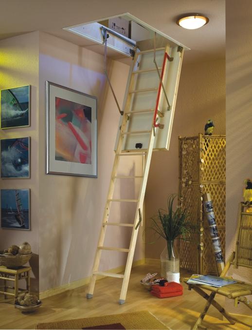 Půdní schody DOLLE EXTRA+ 112x60 do 262 cm