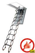 Půdní schody protipožární FAKRO LSF 70x120