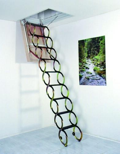 JAP stahovací schody LUSSO