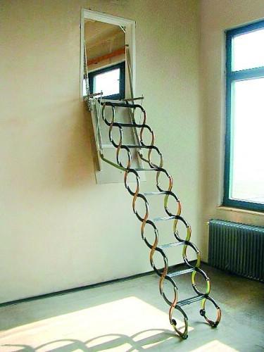 JAP stahovací schody VERTICALE