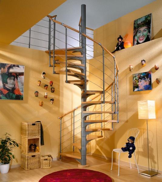Levné točité schodiště