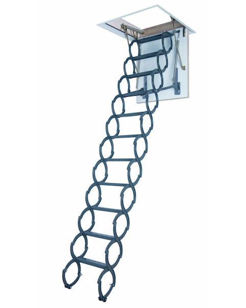 Půdní schody kovové FAKRO LST 70x80